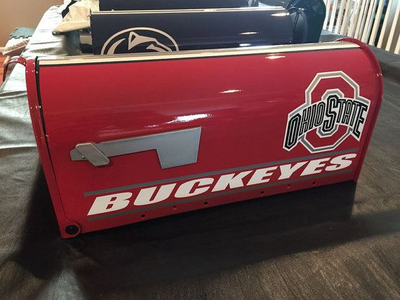 Hey, I found this really awesome Etsy listing at https://www.etsy.com/listing/217721428/custom-ohio-state-buckeyes-mailbox