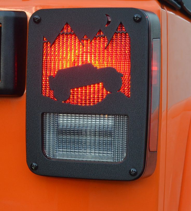 The Jeep Tweaks Wrangler mountain climb black taillight guards have been carefully designed to set it apart from other rear light covers. Made from polished aluminum diamond plate in a powder coat black crinkle matte finish. This off-road accessory will not rust nor interfere with your taillights visibility. These covers will fit all Jeep Wrangler models from 2007-2015. Installs in minutes with all the necessary mounting hardware. Sold as a pair. Proudly made in the USA.