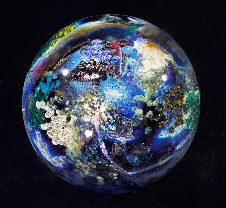 Josh Simpson Planet | Glass | Pinterest