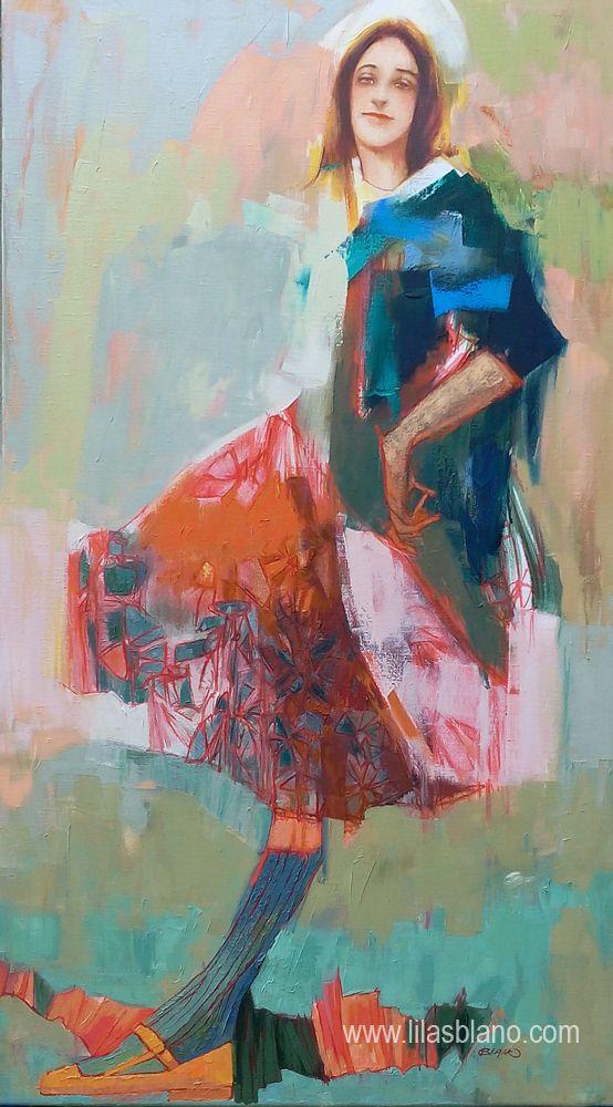 Le Flaque d'Eau 120 x 71 cm By Lilas Blano