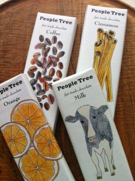 People Tree Fair Trade Chocolates.