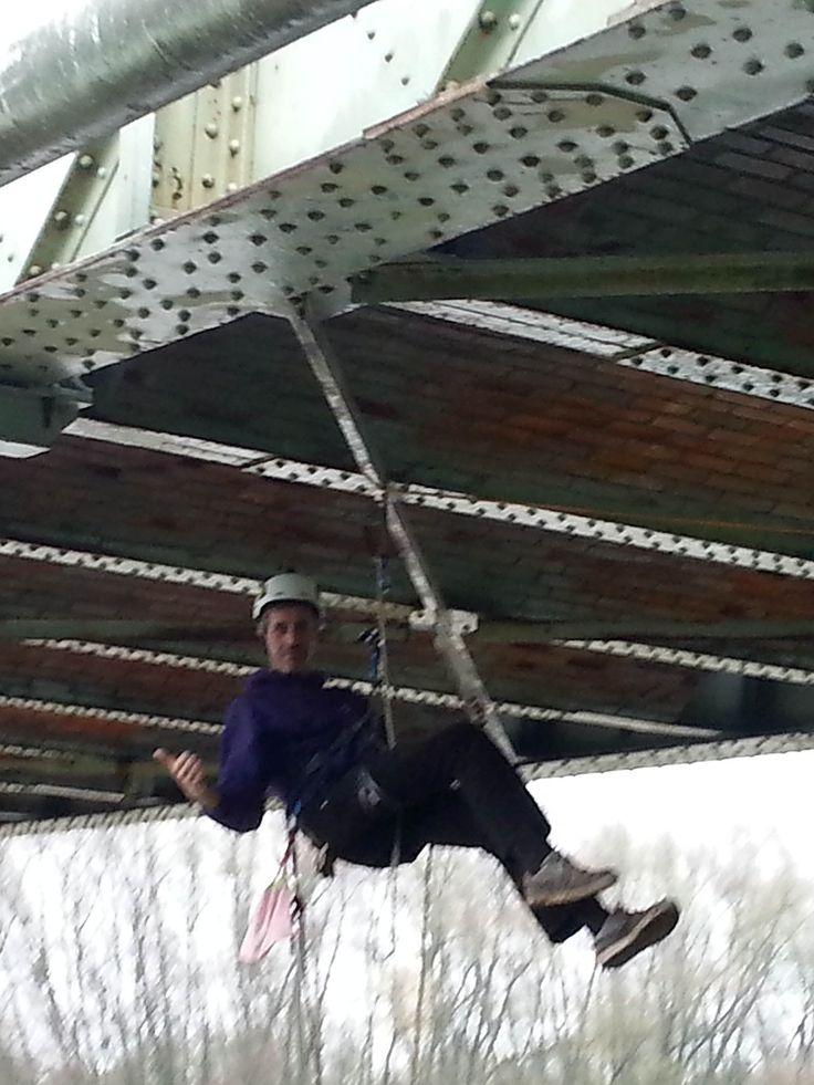(GC5GG1V) Ascension sous la structure métallique d'un pont - Thouaré-sur-Loire FRANCE