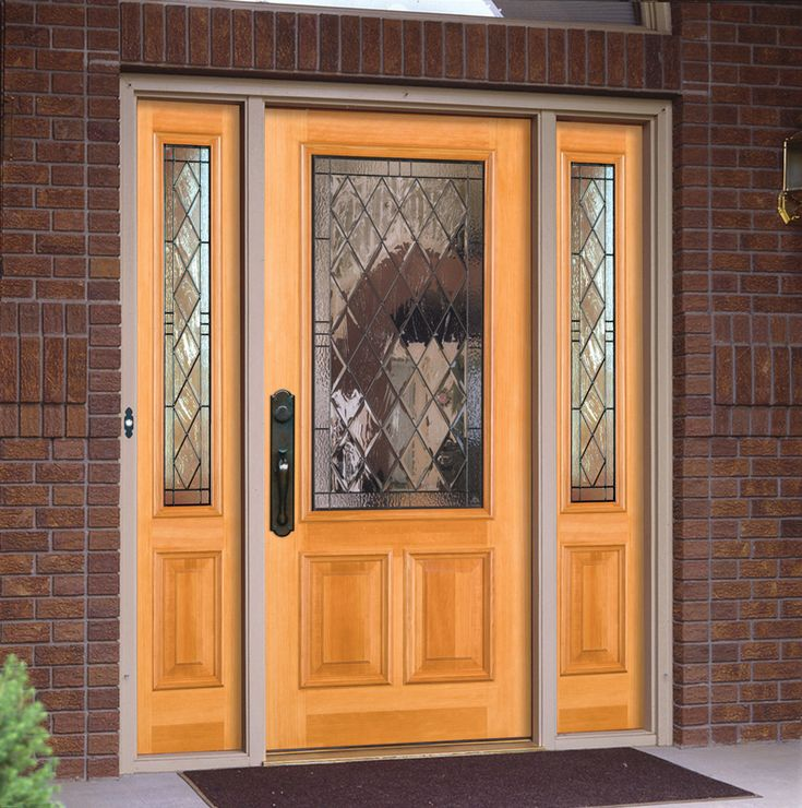 Queen Anne® 4608 With UltraBlock® Technology | Shown In Fir With 4609  Sidelights · Entry DoorsFront ...