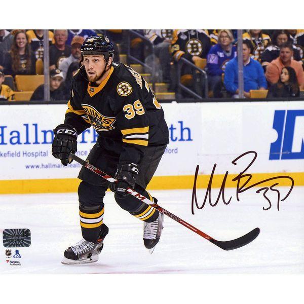 "Matt Beleskey Boston Bruins Fanatics Authentic Autographed 8"" x 10"" Black Jersey Horizontal Skating Photograph - $54.99"