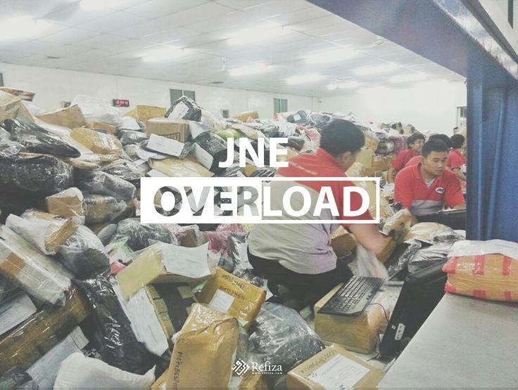 Terhitung sejak tanggal  27 Juni 2016 dikarenakan JNE Overload pengiriman pesanan customer REFIZA mengalami keterlambatan. Kami pastikan pesanan customer Refiza sampai walaupun terlambat.