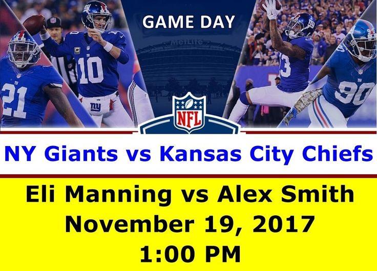 NY Giants vs Kansas City Chiefs NFL (October 22) - 2 Tix Package Lower 100 Level #NewYorkGiants #Giants #KansasCity #Chiefs #football #NFL #sports #StubHub #ebay #tickets #events #buytickets