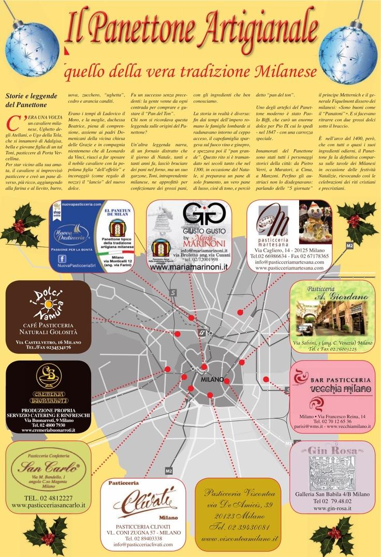 """""""Il Panettone Artigianale, quello della vera tradizione milanese"""" - La Repubblica del 30/11/2012 - upload by Nuova Pasticceria via Slideshare"""