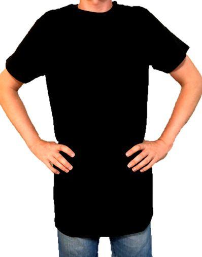 7af0cfef4d8 Basic Tall Tee Extra Long Mens Longline Tees Shirt T-Shirt 160GSM 100%  Cotton