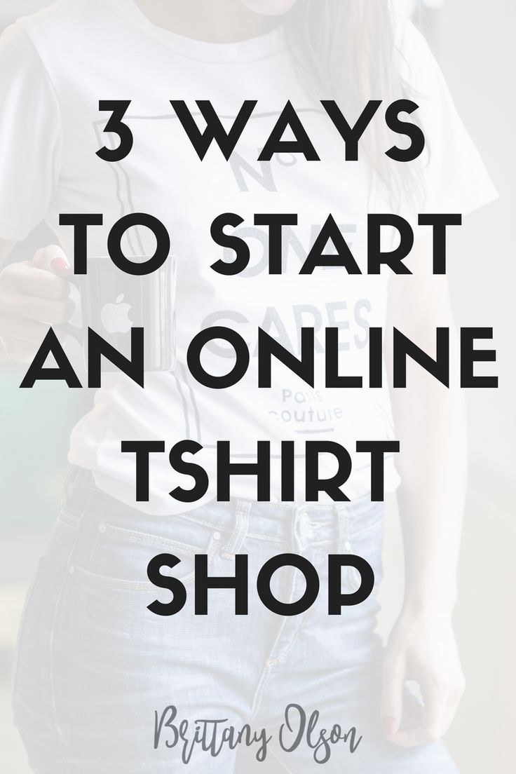 Best 25 online tshirt design ideas on pinterest build for How to start your own t shirt brand