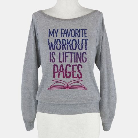 My Favorite Workout is Lifting Pages | HUMAN