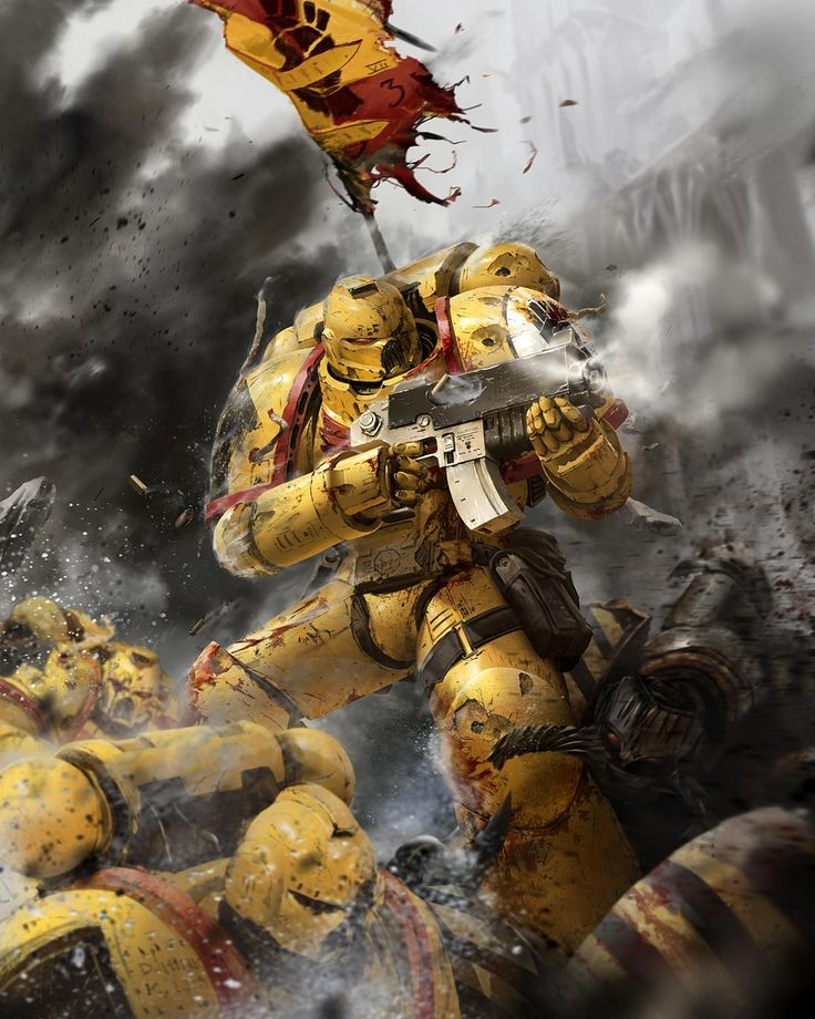 W40K - Imperial Fists (by Unknown)