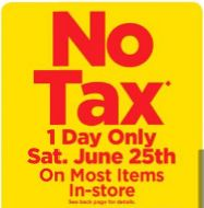 Real Canadian Superstore (West): No Tax Day! http://www.lavahotdeals.com/ca/cheap/real-canadian-superstore-west-tax-day/101170