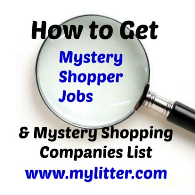 How to Get Mystery Shopper Jobs -- and how to avoid the scams!! Plus a list of companies to apply to!