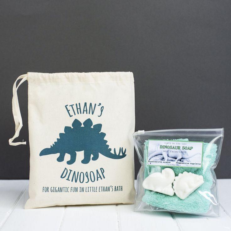 Personalised Children's Bathtime Dinosoap Kit
