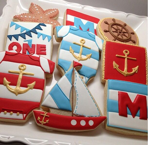 Love these cookie ideas