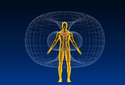 The human heart emits the strongest electromagnetic field in our body. This electromagnetic field envelops the entire body extending out in all directions, and it can be measured up to several feet outside of the body.