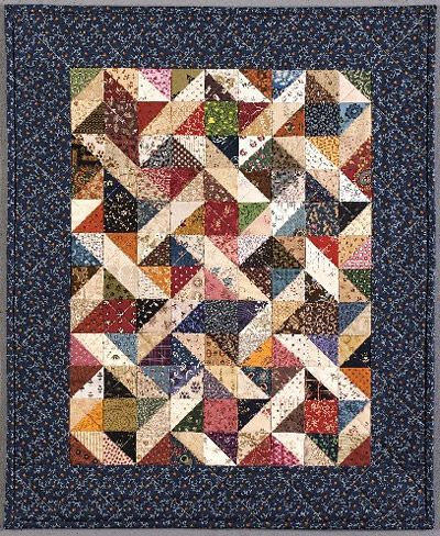 QUILTING CHARM SQUARE PATTERNS | FREE Quilt Pattern