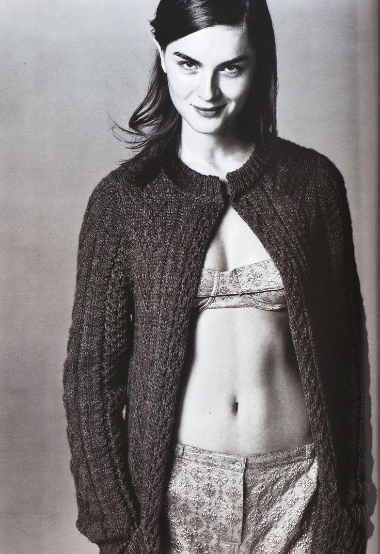 Anouck Lepere for Prada (Spring-Summer 2002) by Steven Meisel