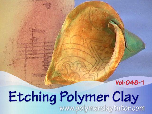 Etching Premo Sculpey | Polymer Clay Tutorial