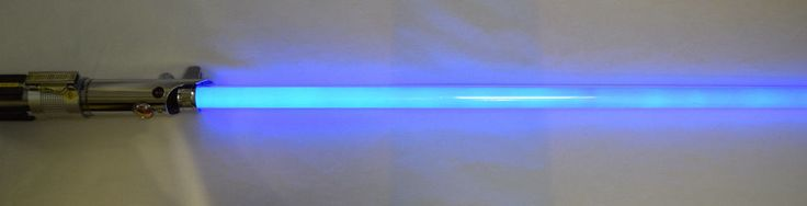 #StarWars #Lightsaber #Anakin #Blue 2005 Master Replicas Lucasfilm #LightUp #Cosplay
