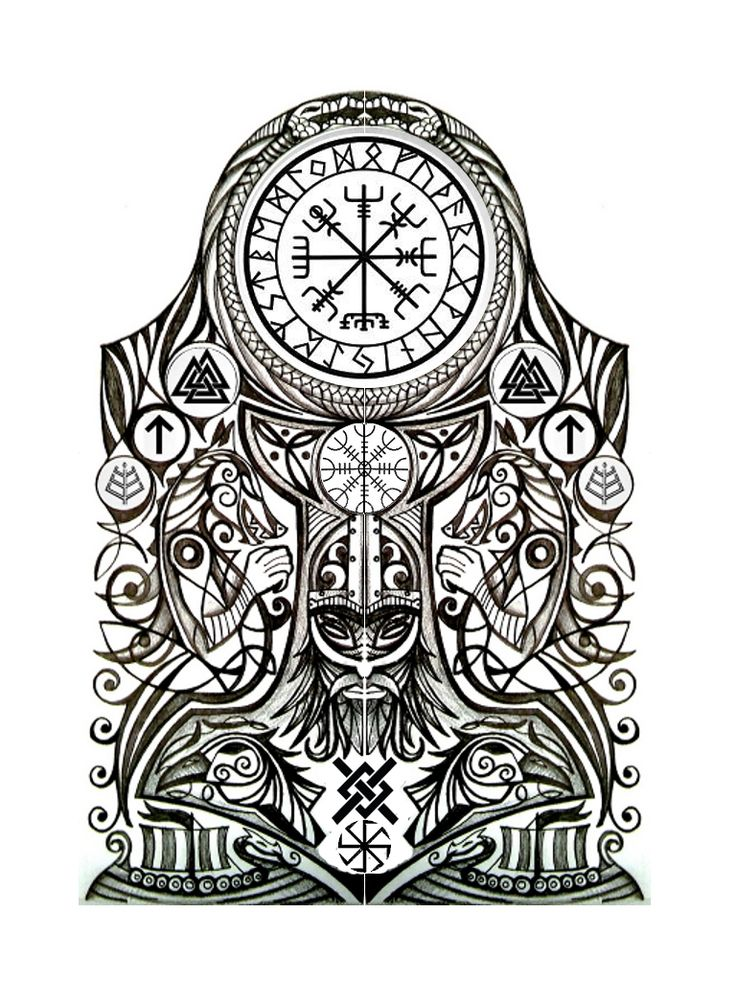 Best 25 norse tattoo ideas on pinterest viking tattoos for Ancient scandinavian designs