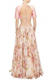 i love the flower print skirt! -Sonal Kalra Ahuja