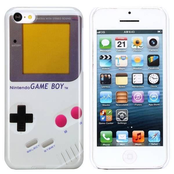 Gameboy hardcase hoesje iPhone 5C