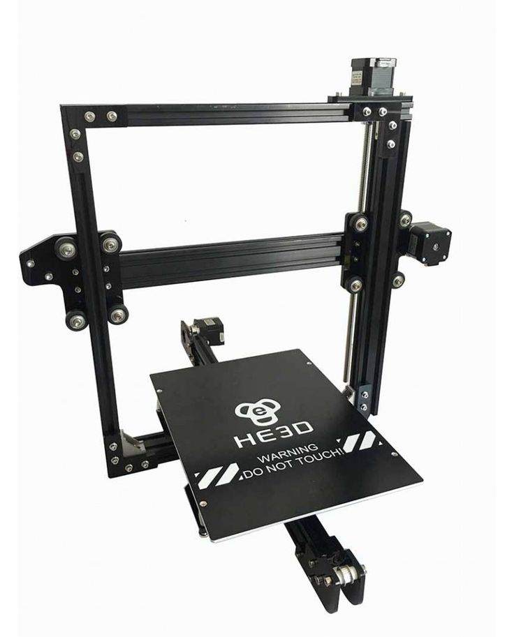 He 3D EI3-Tricolor DIY 3D Printer kit Triple Extruder