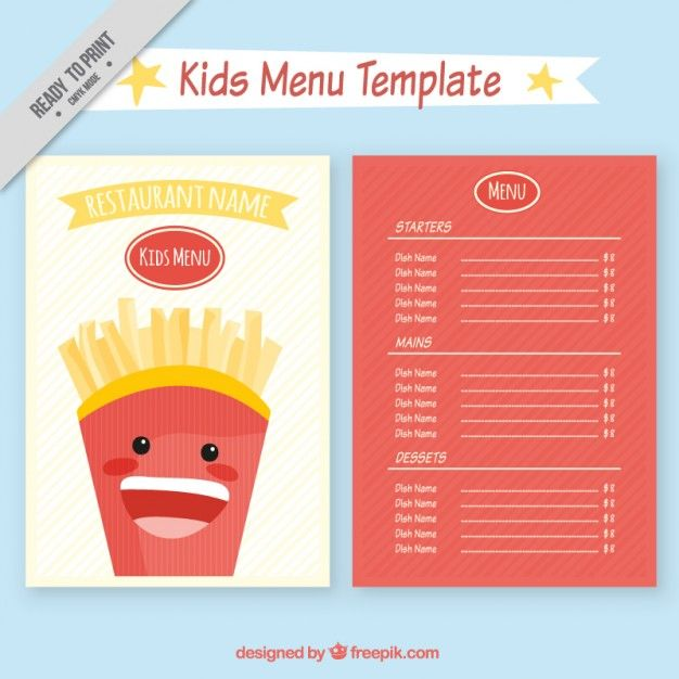 68 best Alphabet, Numbers \ Fonts images on Pinterest Numbers - free kids menu templates
