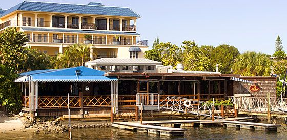 The Dock, Naples, FL - Great atmosphere and really good margaritas!