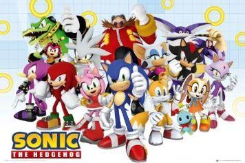 Sonic The Hedgehog Regular Poster (01-5607)