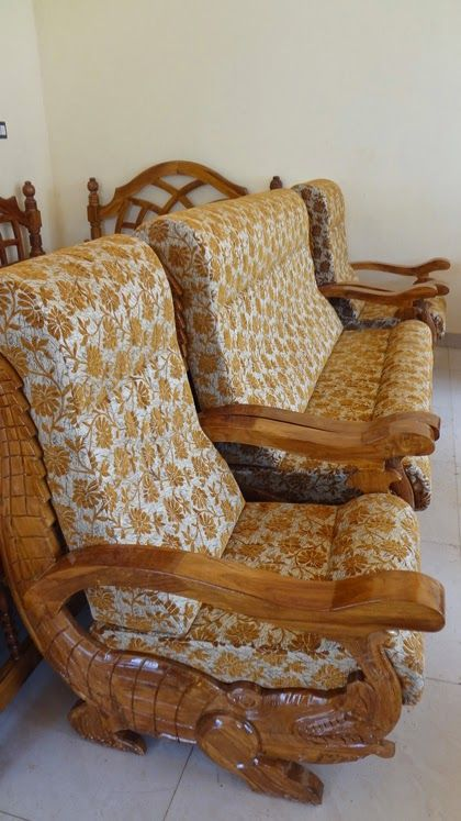 Wooden Sofa Design Simple