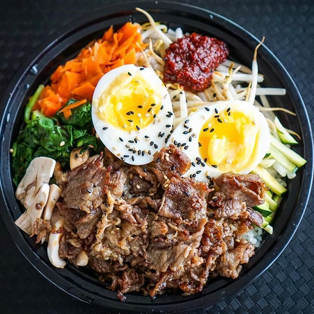 I Finally Went To The Nom Nom Kitchen In Ottawa It S Quite Close To My House Which Is Quite Convenient I Tried Out The Bibimbap S Ottawa Food Foodie Bibimbap