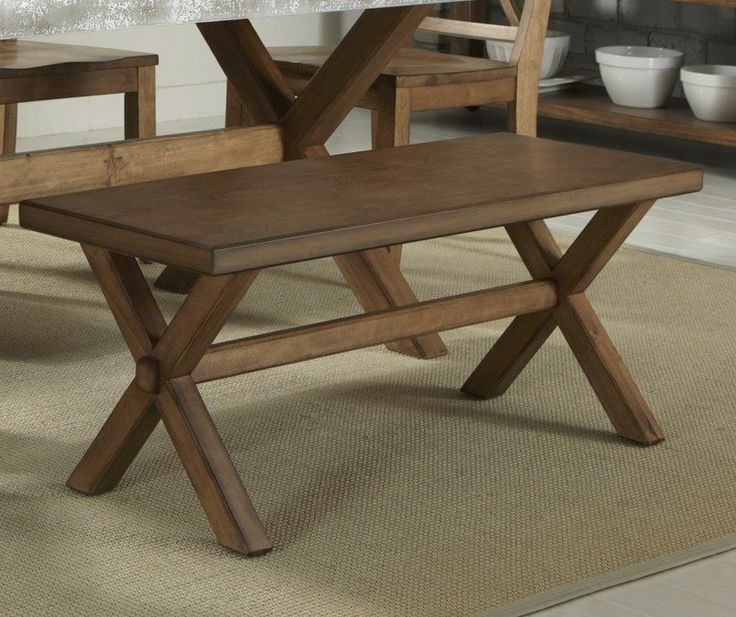 Buy Liberty Furniture 44x16 Inch Keaton Transitional Bench in Medium Wood on sale online