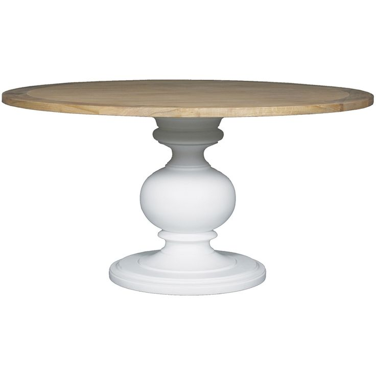 Rodin Round Dining Table White