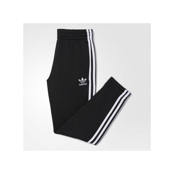 adidas Originals Classic Team Track Pants In Black B48974