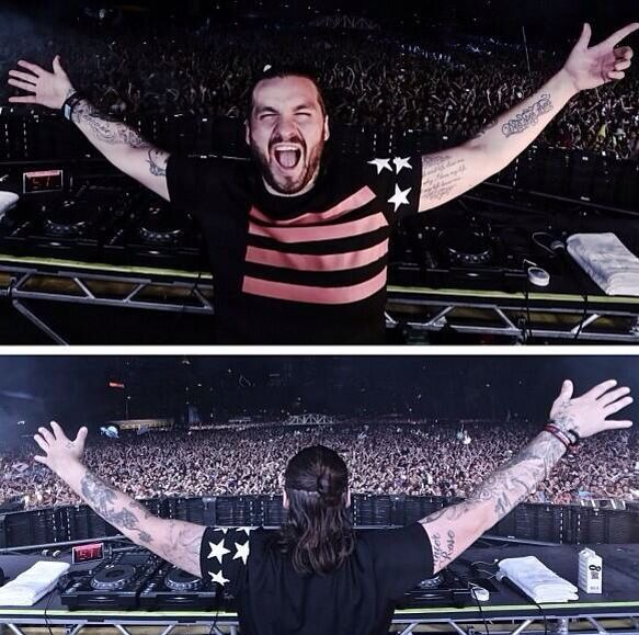 TOP DJ STEVE ANGELLO IN GIVENCHY