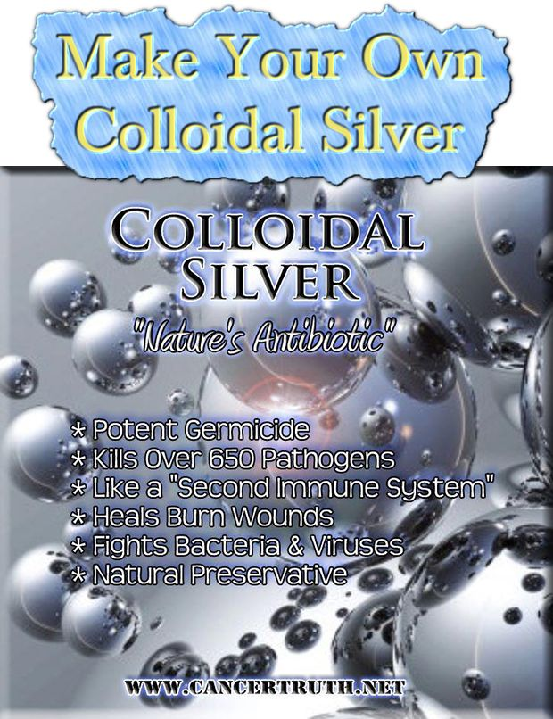 how to take colloidal silver for a cold