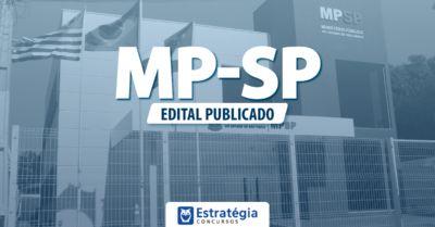 Foi publicado o Edital MP-SP com 67vagas para Promotor de Justiça!