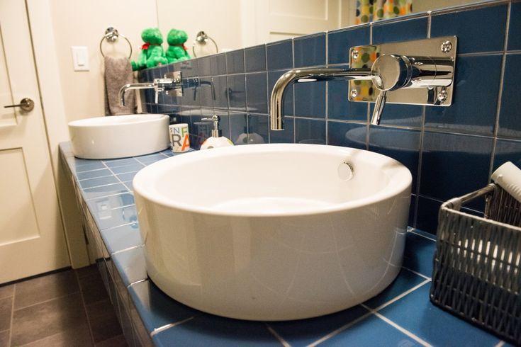 boys bathroom countertop