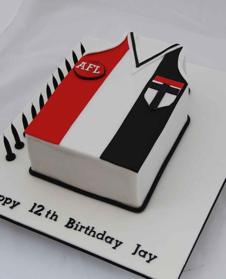 Little Robin AFL St Kilda Cake cakepins.com