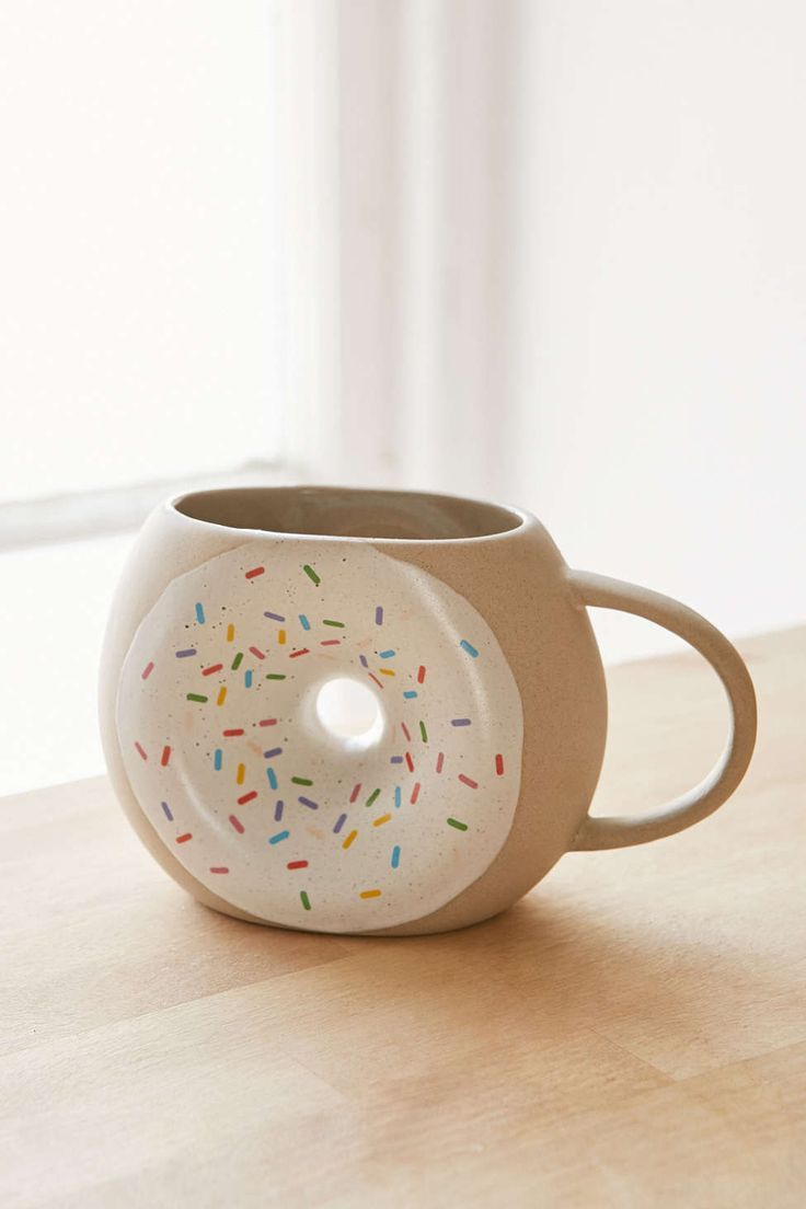 Donut Coffee Mug - so cute!