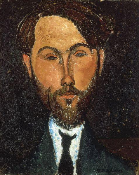 Titulo de la imágen Amadeo Modigliani - A.Modigliani, Leopold Zborowski, 1917.