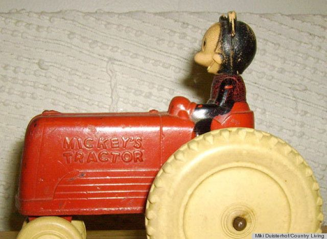A 1950s Mickey Mouse Toy