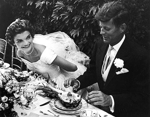 June 24th, 1953: JFK and Jackie Kennedy announce their engagement.