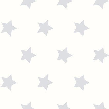 Be You kinderbehang dessin met grijze sterren | Praxis