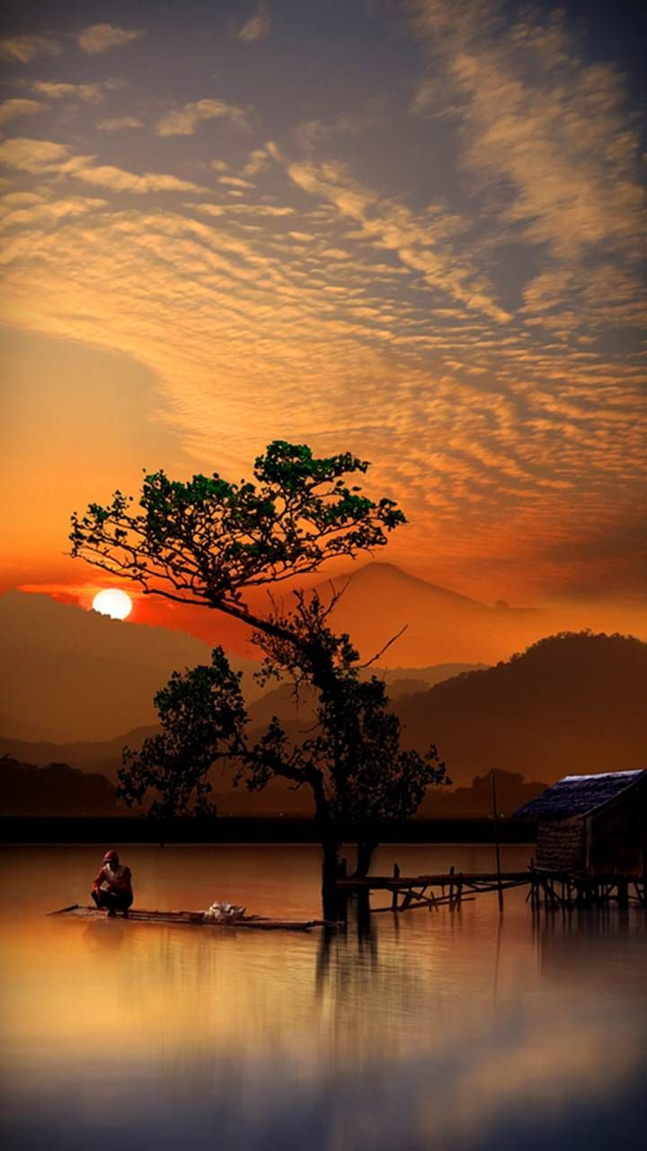 Tropical Sunset In 2020 Beautiful Landscapes Nature Photography Nature