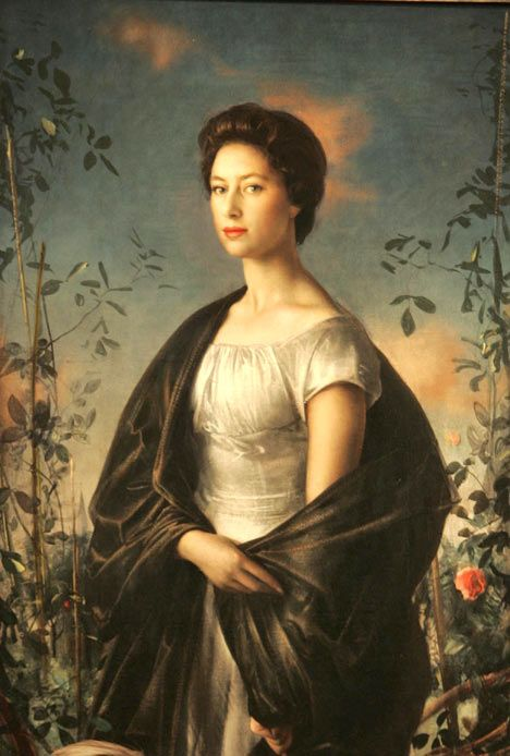 Annigoni portrait of Princess Margaret She was a beautiful woman saw her twice once in Belfast and once at Olympia Horse Show