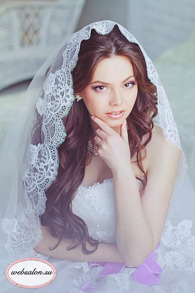Wedding Hairstyles That Look Good With Veils ❤ See more: http://www.weddingforward.com/wedding-hairstyle-ideas-with-veils/ #weddings