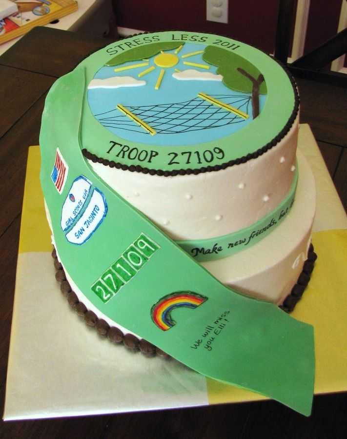 Cake Ideas For Girl Scouts : 17 Best images about Cake Ideas for Girl Scout Bridging ...